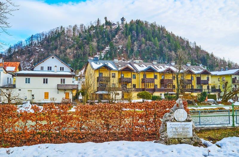 Siriuskogl-Berg, schlechtes Ischl, Österreich lizenzfreies stockfoto