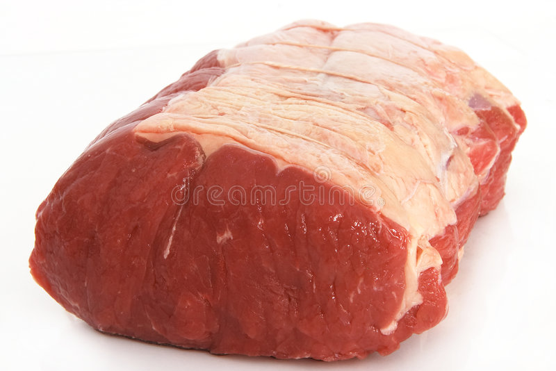 Download Sirloin joint 3 stock photo. Image of tied, uncooked, beef - 211014