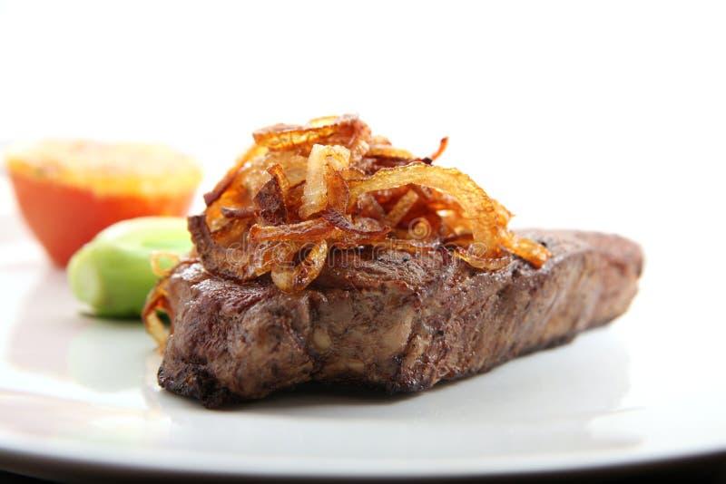 Sirloin steak stock photography