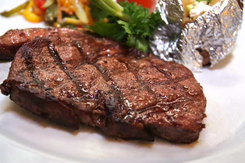 Sirloin steak royalty free stock images