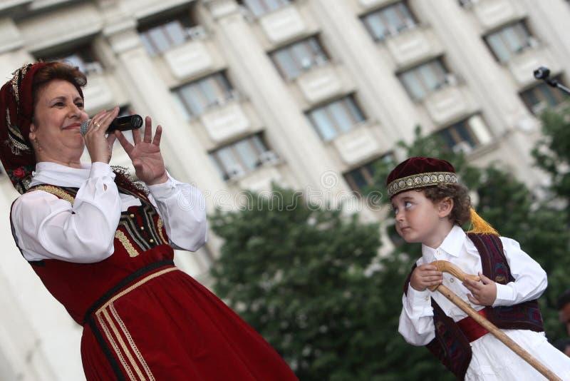 Sirma Granzulea singing