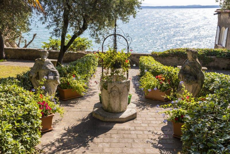 Sirmione, Италия стоковое изображение rf