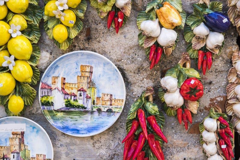 Sirmione, Италия стоковые фотографии rf