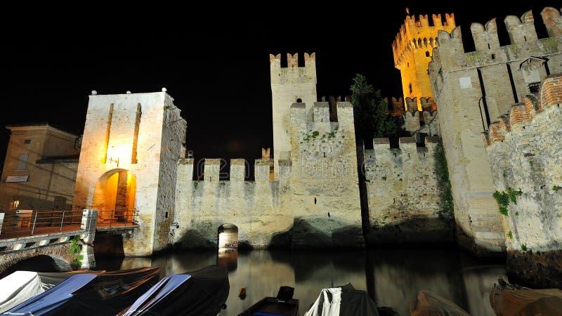 Download Sirmione Castle ,  Garda Lake - Italy Stock Image - Image: 25595957