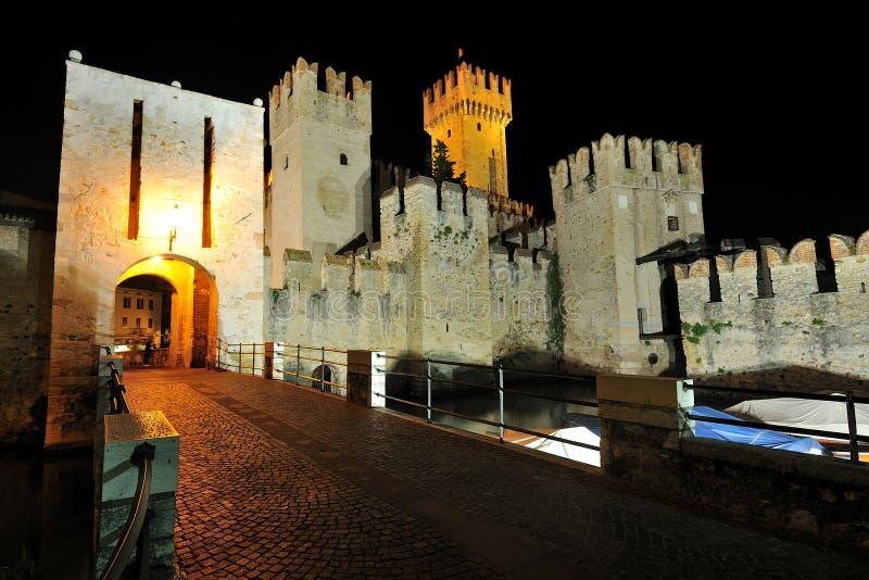 Download Sirmione Castle ,  Garda Lake - Italy Stock Image - Image: 25595971