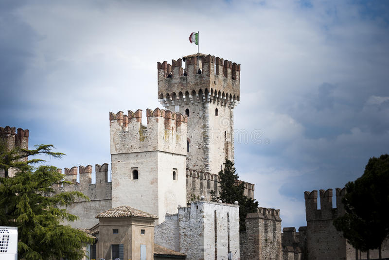 Download Sirmione Castle Stock Photo - Image: 40047717