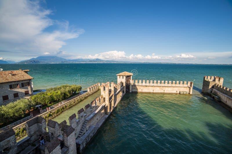 Sirmione, Garda Lake, Italy. View of Sirmione, Garda Lake, Italy stock photos