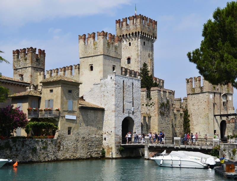 Sirmione, Garda Lake, northern Italy. Sirmione, the Garda Lake, northern Italy royalty free stock photography