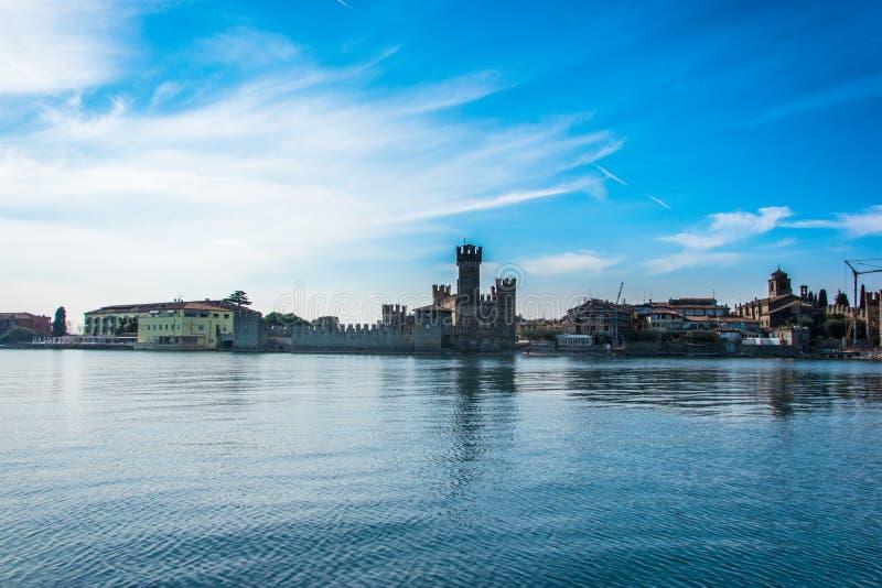 Sirmione - Garda-Meer stock afbeeldingen