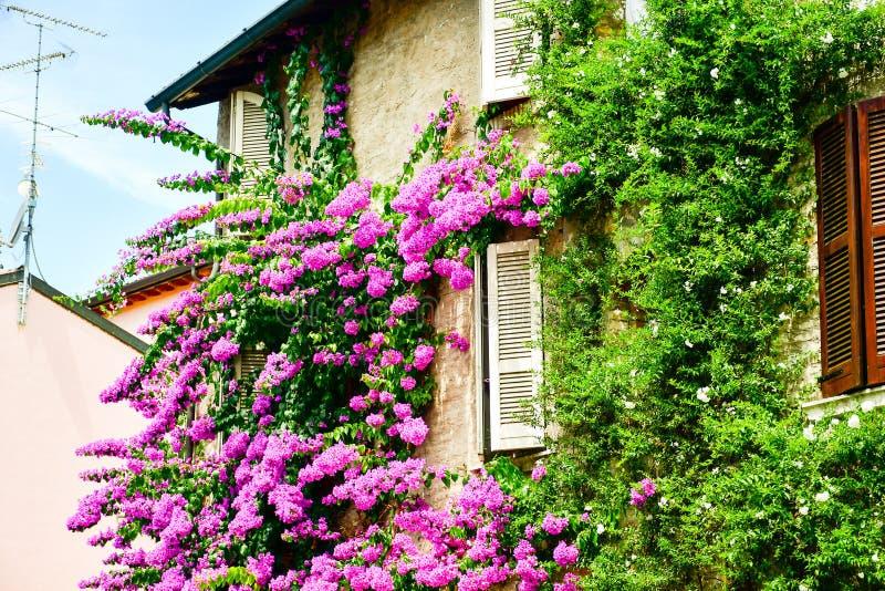 Sirmione op meer Lago Di Garda, Italië royalty-vrije stock foto