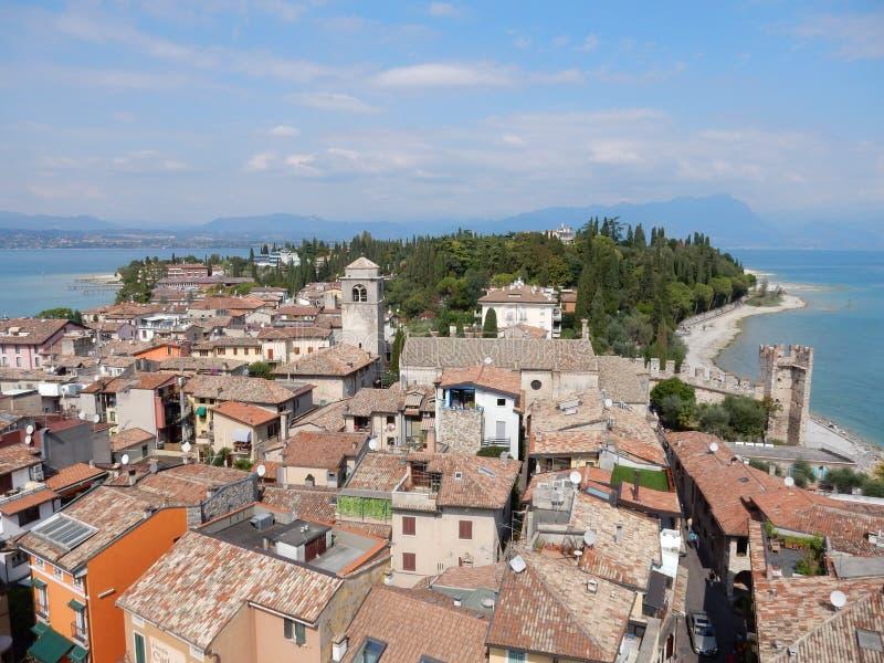 Sirmione, See Garda, Italien stockbild