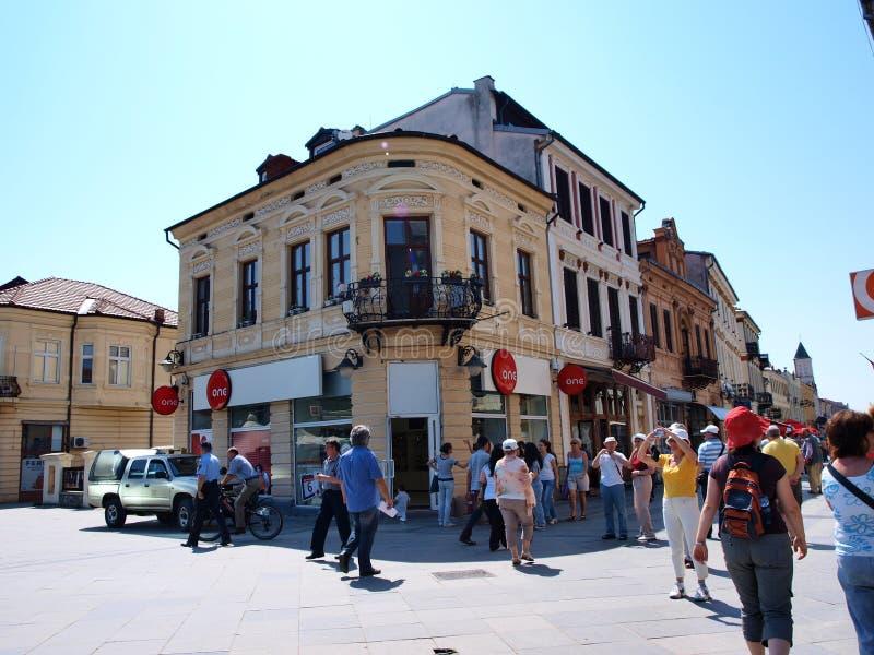 Sirok Sokak, Bitola, Macedonia. The so-called Wide Alley (mac. Sirok Sokak) in Bitola, Macedonia stock image