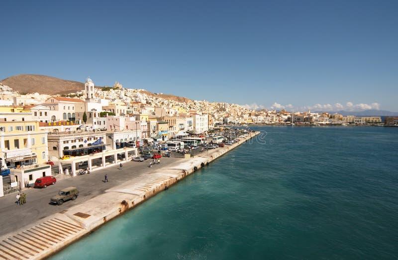 Siros, Grecia immagini stock
