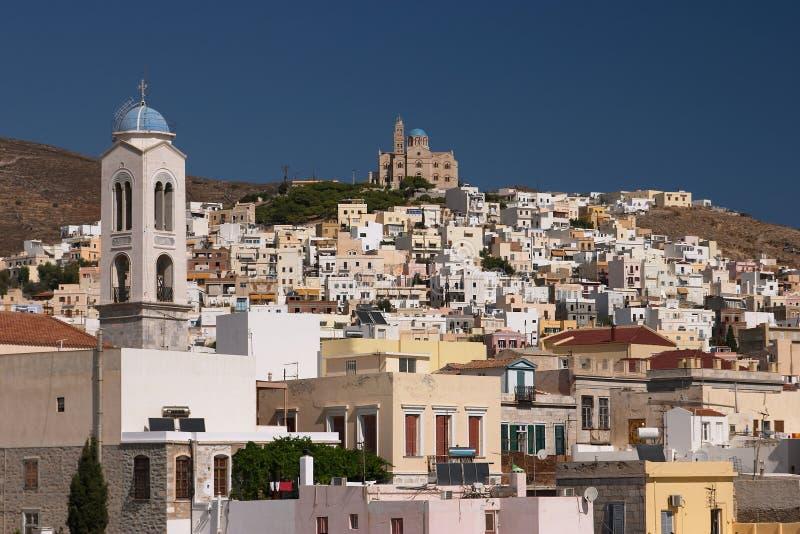Siros, Grecia immagine stock libera da diritti