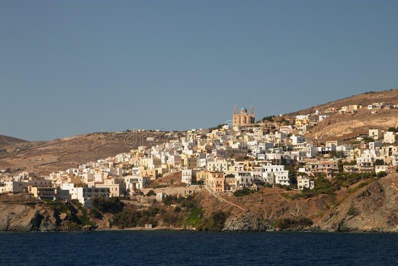 Siros, Greece stock photography
