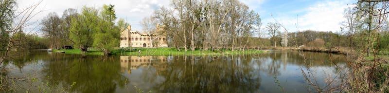 Sirotci Schloss in Moray. stockfotografie