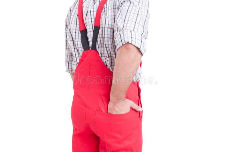 Sirva sostener el bolsillo de la parte posterior del interior de la mano de mamelucos o de batas fotos de archivo