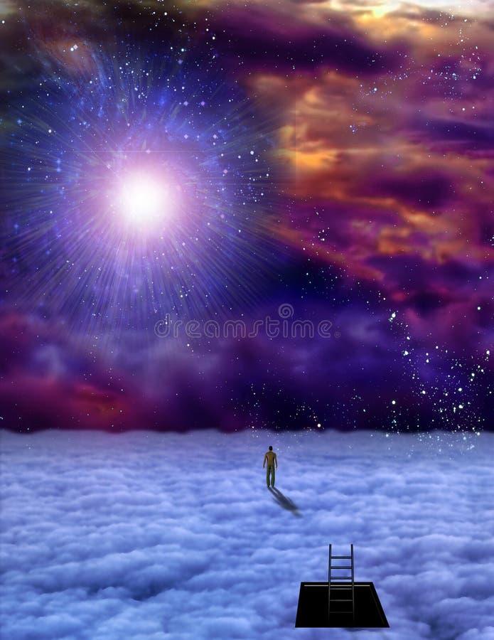 Sirve el viaje del alma libre illustration