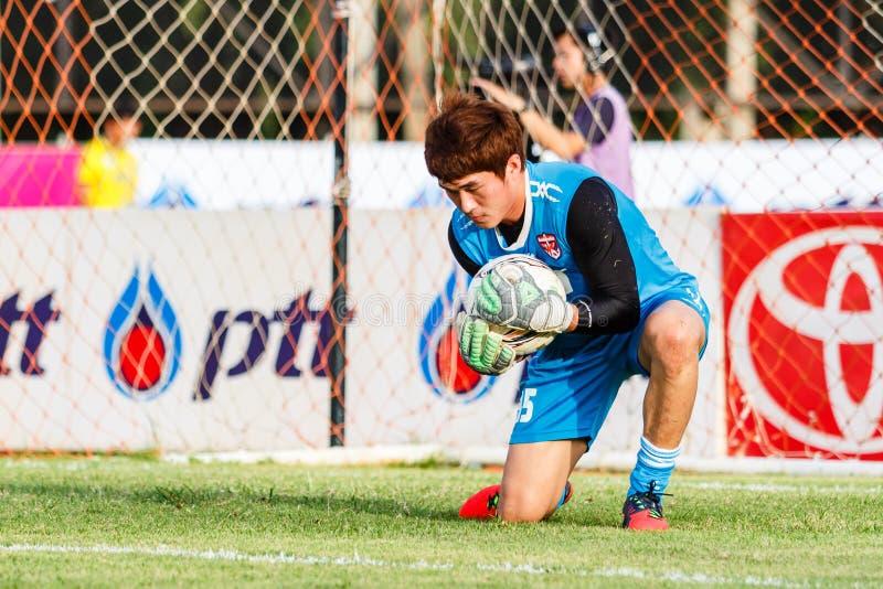 Download SISAKET TAILANDIA 21 DE JUNIO: Chanin Sae-Eae De Singhtarua FC Foto editorial - Imagen de guantes, passing: 41916771