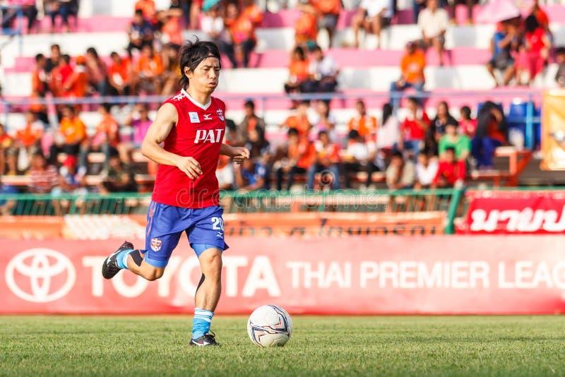 Download SISAKET TAILANDIA 21 DE JUNIO: Hironori Saruta De Singhtarua FC Imagen de archivo editorial - Imagen de pista, juego: 41916884