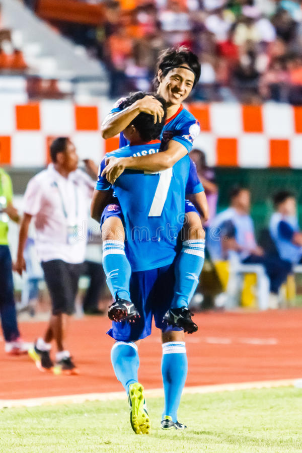 Download SISAKET TAILANDIA 21 DE JUNIO: Hironori Saruta De Singhtarua FC Foto editorial - Imagen de balompié, felicite: 41918206