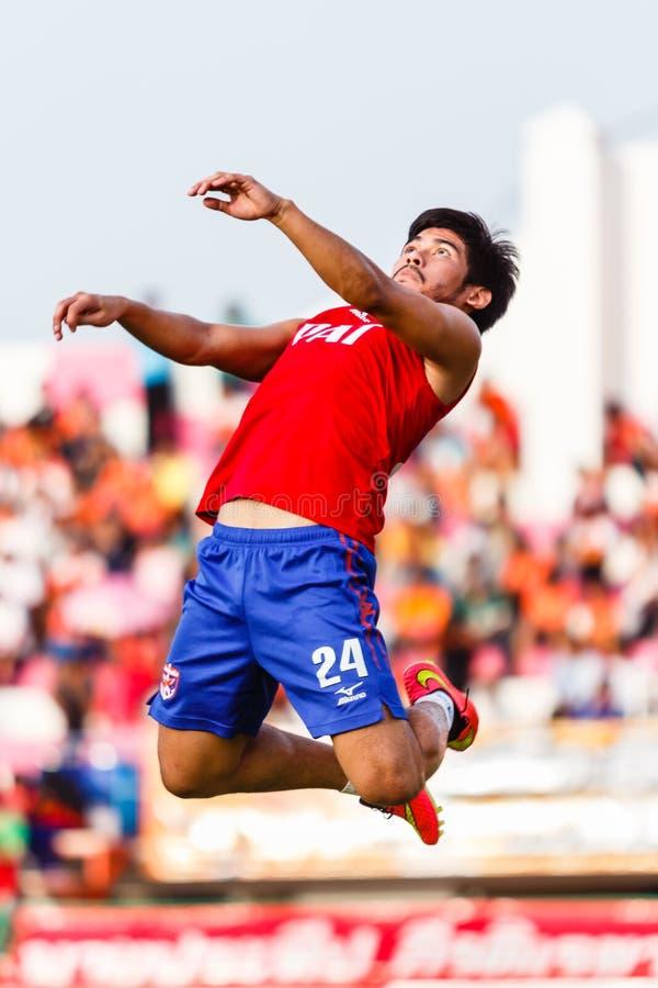 Download SISAKET TAILANDIA 21 DE JUNIO: Kroekrit Thaweekarn De Singhtarua FC Foto de archivo editorial - Imagen de aptitud, liga: 41917128