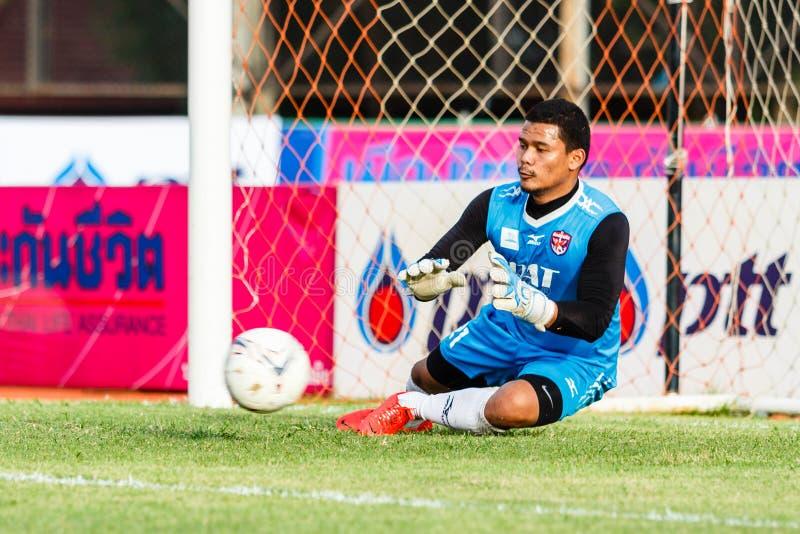 Download SISAKET TAILANDIA 21 DE JUNIO: Nattapol Krobyoo De Singhtarua FC Fotografía editorial - Imagen de acción, guantes: 41916692