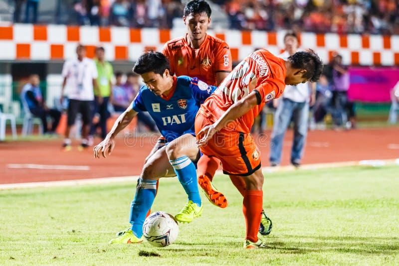 Download SISAKET TAILANDIA 21 DE JUNIO: Piyawit Janput De Singhtarua FC (Azul) Fotografía editorial - Imagen de ataque, bola: 41918842