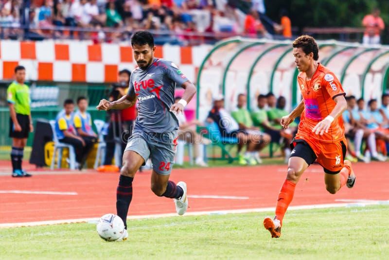 Download SISAKET THAILAND-JUNE 29: Sompong Soleb Of Bangkok Utd. (grey) Editorial Image - Image of goal, bangkok: 42153405
