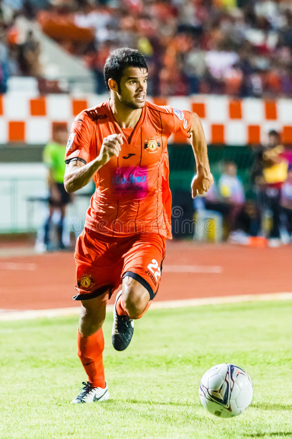 Download SISAKET THAILAND-JUNE 29: Victor Amaro Of Sisaket FC. Editorial Photo - Image: 42154281