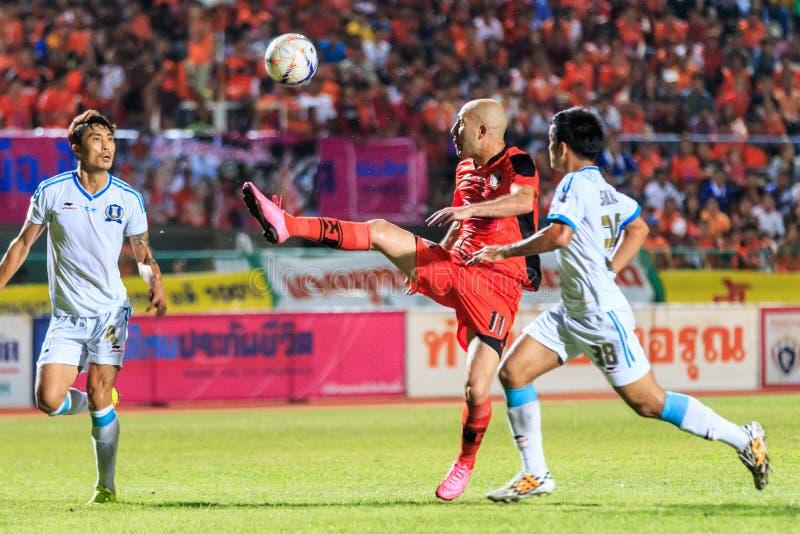 SISAKET 20 THAILAND-SEPTEMBER: Mohsen Bayatinia van Sisaket FC ( stock foto