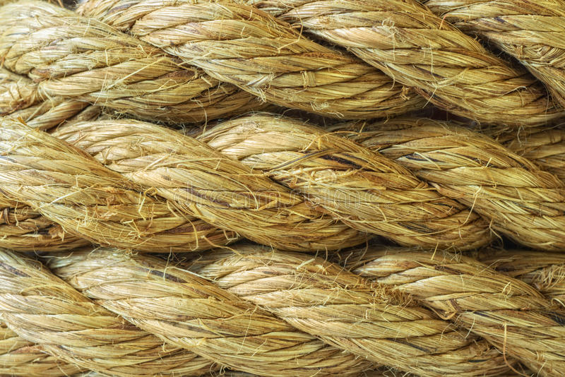 Sisal Rope Abstract Background Texture royalty free stock photography