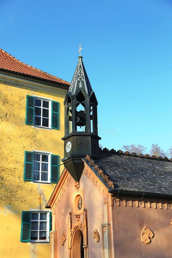 Sisi Castle σε Unterwittelsbach, Γερμανία στοκ εικόνες με δικαίωμα ελεύθερης χρήσης