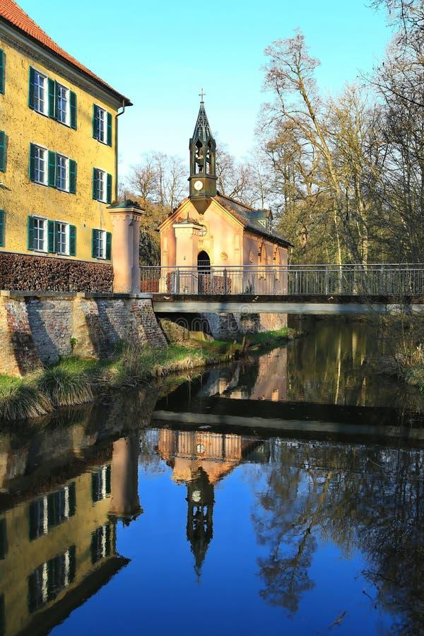 Sisi-Schloss in Unterwittelsbach, Deutschland stockfoto