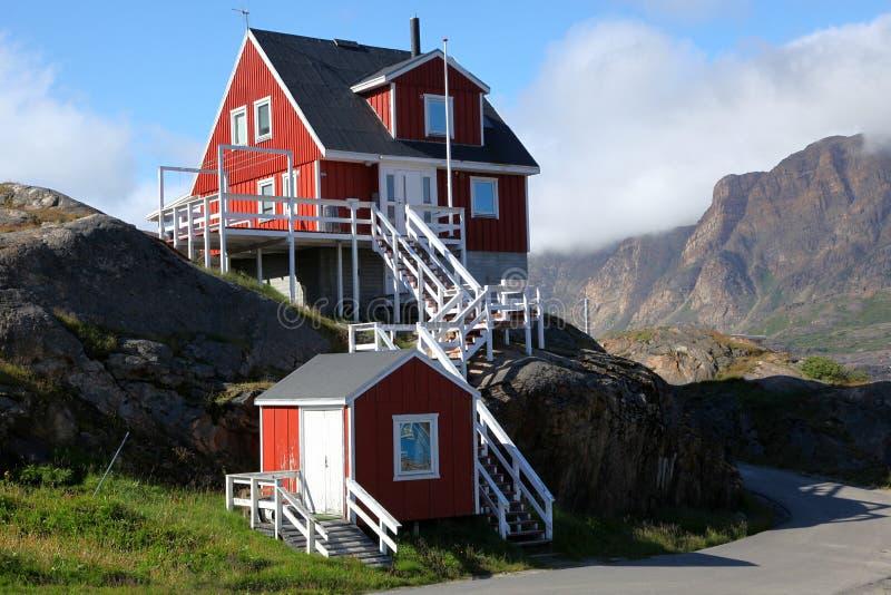 Sisimiut στη Γροιλανδία στοκ φωτογραφία με δικαίωμα ελεύθερης χρήσης