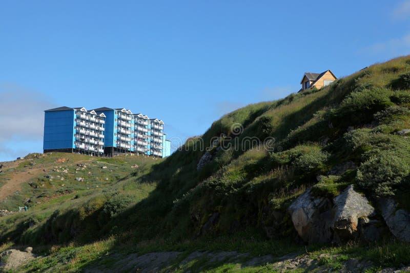 Sisimiut au Groenland photo libre de droits