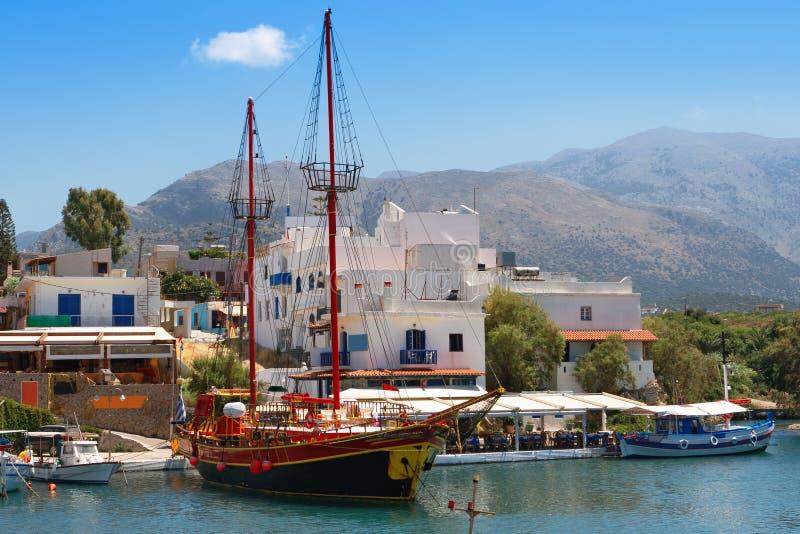 sissi Крита стоковое изображение