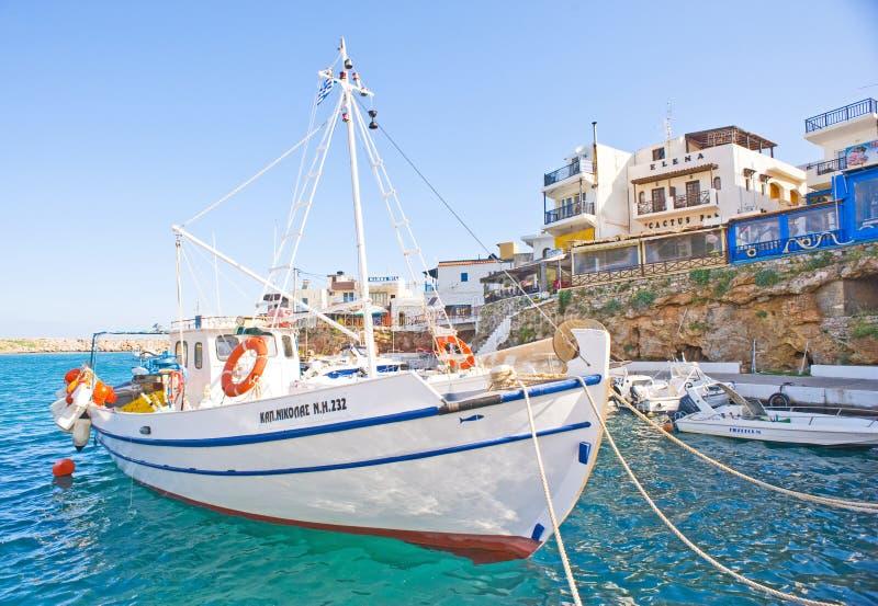 Download Sissi Harbor Crete. Editorial Image - Image: 19653345