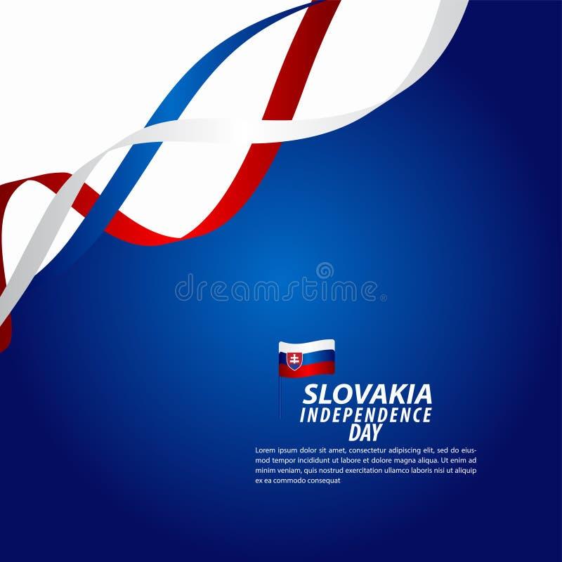 Sistani dnia niepodległości świętowania szablonu projekta Wektorowa ilustracja ilustracja wektor