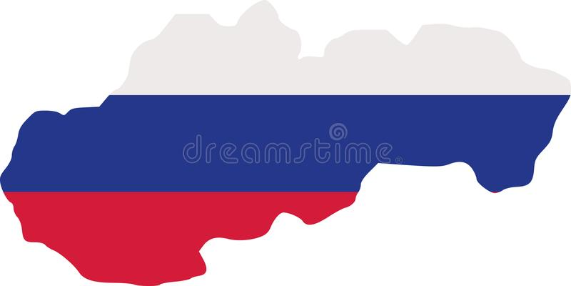 Sistani mapa z flaga ilustracji