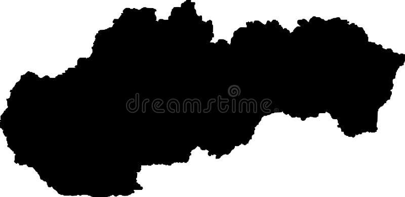 Sistani stanu mapy wektoru sylwetka ilustracji