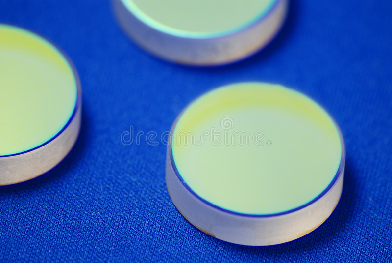 Sistema ótico do laser fotos de stock