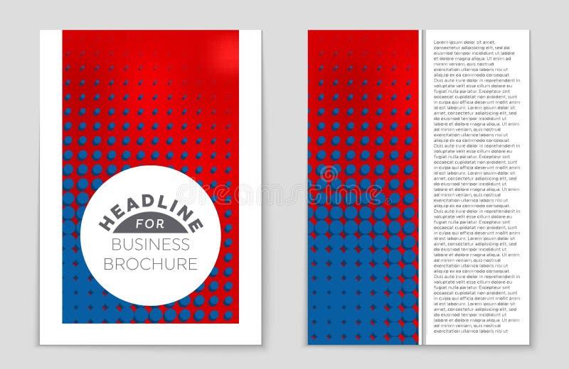 Sistema abstracto del fondo de la disposición Para el diseño de la plantilla del arte, lista, página delantera, estilo del tema d stock de ilustración