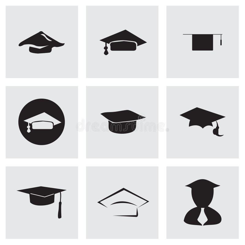 Sistema académico del icono del vector libre illustration