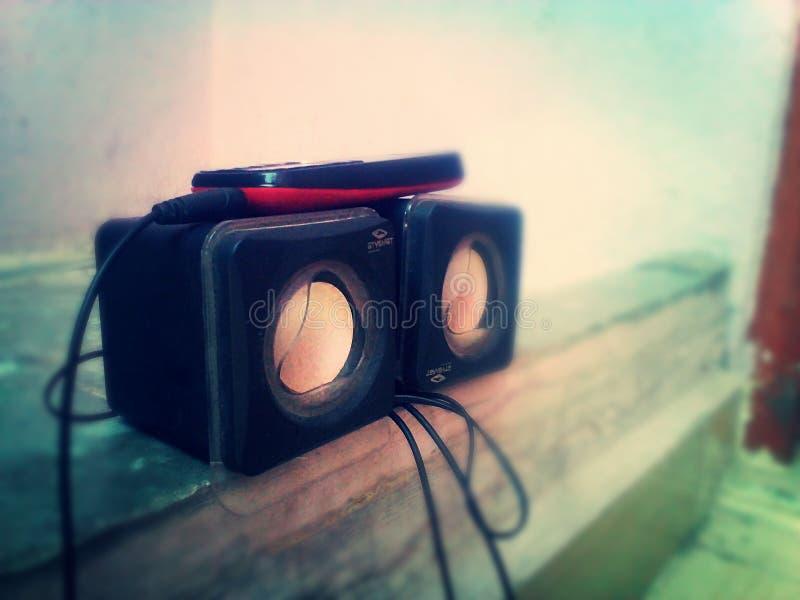 Sistema acustico 3d immagine stock libera da diritti