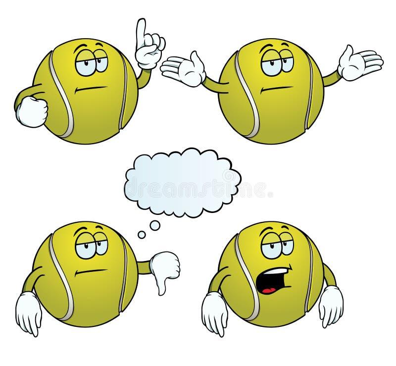 Sistema agujereado de la pelota de tenis libre illustration
