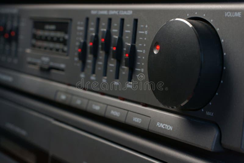 Sistema audio imagen de archivo libre de regalías