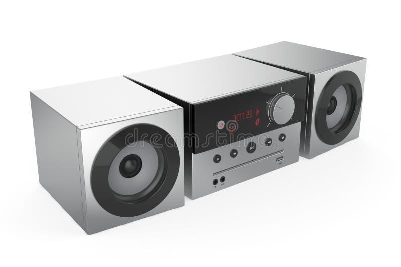 Sistema audio estereofónico ilustração do vetor