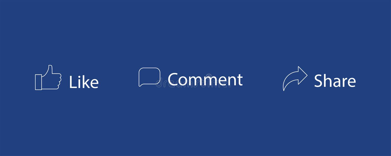 Sistema como de iconos del vector de la parte del comentario Pulgar para arriba, mensaje Iconos sociales de la red ilustración del vector