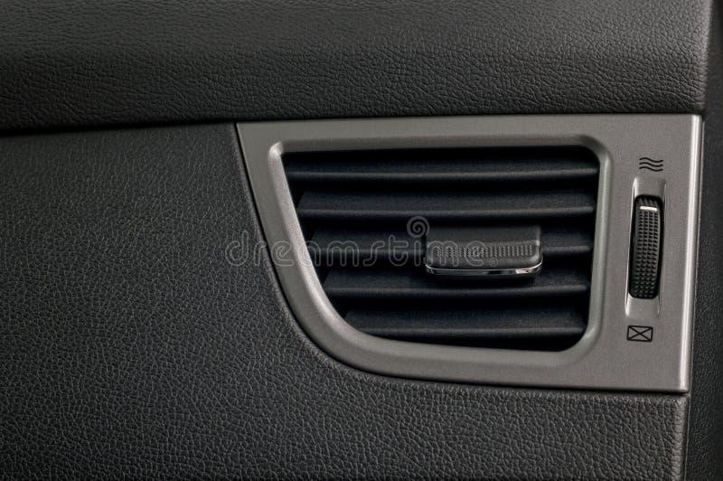 Sistema de aire acondicionado del coche fotos de archivo libres de regalías
